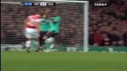 Arsenal Fc 2-1 Fc Barcelona - Uefa Champions League Highlights 16022011