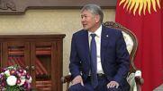 Kyrgyzstan: Putin congratulates Kyrgyz President Atambayev on 60th birthday