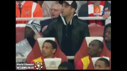 Арсенал - Ливърпул гол на Марида 1:0