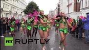 Великобритания: Хиляди танцуваха по улиците в последният ден от карнавала Нотинг Хил