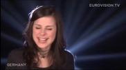 [превод+ текст] Lena - Satellite (германия) ** Официално видео** Победител в Евровизия 2010 {hq}
