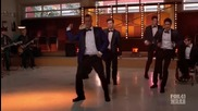 Glee - Stop! In The Name of Love / Free Your Mind (2x06) (+ Превод)