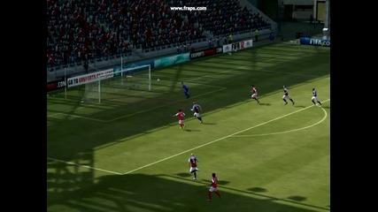 невероятно спасяване на Shay Given (fifa 2012)