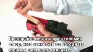 Смяна на намастилващ тампон на маркиращи клещи Blitz – Маркиращи клещи Тиксо-ленти