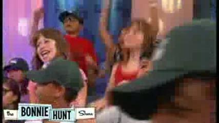 quothannah Montanaquot Mitchel Musso performs his song quotshout Itquot - The Bonnie Hunt