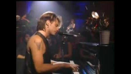 Bon Jovi  -  Bed of Roses (Live)