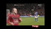 Manchester United 2 - 0 Blackburn ( Rooney [ 2 - 0 ] )