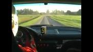Майсторско влизане в завой!!onboard Rally Bmw M3 Askersund 0001