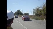 Гонки Добрич Ауди А3 1.9 Tdi vs Ford Fiesta 1.25