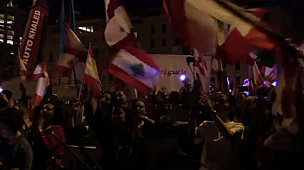 Lebanon: Protesters amass in central Beirut on Independence Day
