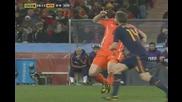!!! Де Йонд забива Бутонка в гърдите на Шаби Алонсо
