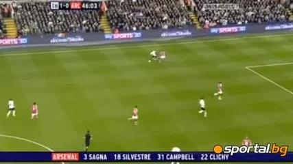 Тотнам 2 - 1 Арсенал 14.04