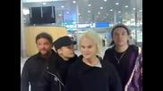 The Rasmus от летището
