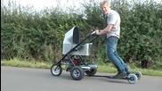 Най-бързата бебешка количка в света