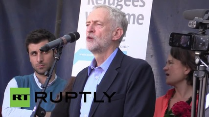 UK: 'This is a popular uprising for humanity!' Corbyn gives victory speech
