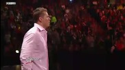 21 03 2011 [raw] John Cena crashes The Mizs attempt to rewrite Miztory