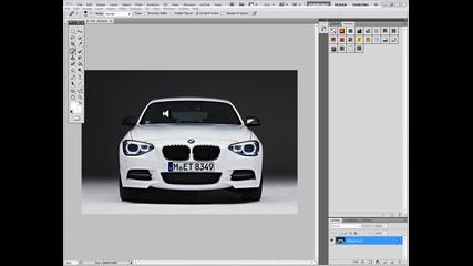 Photoshop - Как да накараме фаровете да светят ? 2 Еп.