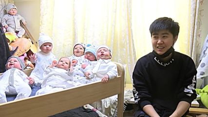 Meet the 16 lifelike baby dolls who help 23-yo Bu cope with Beijing life