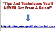 At Home Weight Loss Body Wrap
