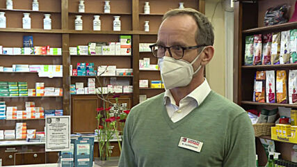 "Germany: ""There are no shortages"" - Berlin pharmacist on FFP2 masks"