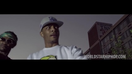 T. I. Fеat Troy Ave, Spodee & Yung Booke - Money On My Mind( Official Video) превод