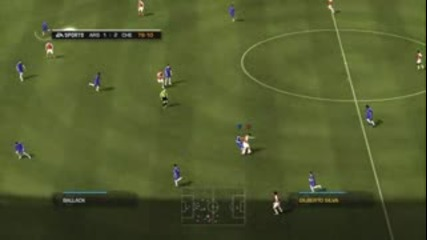 Fifa 09 Chelsea Vs Arsenal Gameplay Part2
