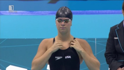 Лондон 2012! Олимпийски игри! Финал! Плуване по гръб жени 200 метра Финал!!!
