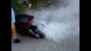 biker gad - burnout