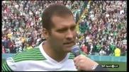 Стилиян Петров се сбогува с футбола пред 60 хиляди души на Селтик Парк 08.09.2013 г