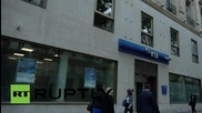 France: Paris VTB branch pictured as assets are frozen in Yukos investigation