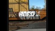 Train Benching Graffiti Video #94