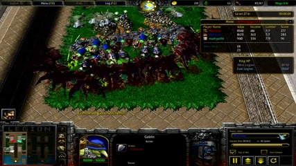 Warcraft 3 frozen Throne Legion Td Mega 3.4 Goblin