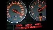 100 - 293 km/h on Bmw M5 E39.