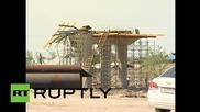 19 ранени в Казахстан след срутването на мост на магистрала