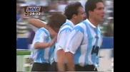 F I F A World Cup U S A 1994 Аржентина - Нигерия