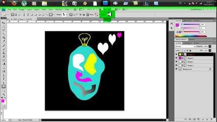 kak da si napravim izvunzemno logo s photoshop