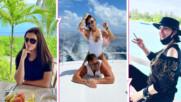 Каква компания! Преслава, Софи Маринова и Константин - заедно на Малдивите, един слух се задълбочи