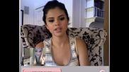 Момиче говори със Selena Gomez !