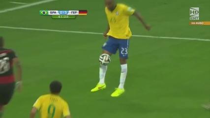 Световно първенство по футбол 2014 Бразилия - Германия - Второ полувреме Част 2/4