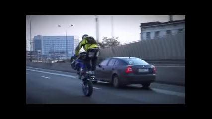 Марат Канкадзе стънт