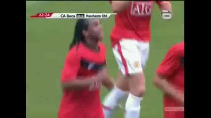 [ Бг Аудио ] Манчестър Юнайтед срещу Бока Хуниорс - гол на Андерсон в 22рата минута!!!