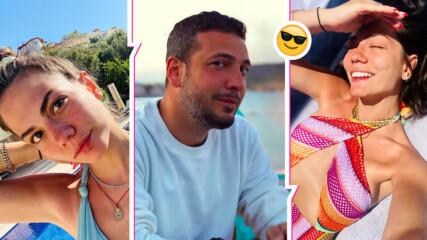 Демет Йоздемир и любимият ѝ откриха сезона по бански! Феновете - втрещени от снимките без филтър