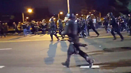 USA: Tear gas and clashes in fresh Portland demonstration