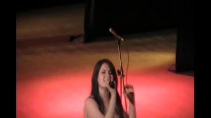 Ирина - изпълнение на концерт