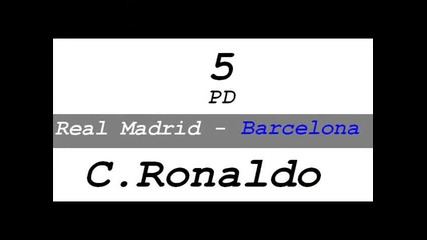 Real Madrid Top 5 Goals