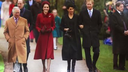 Къде посрещна новата година кралското семейство