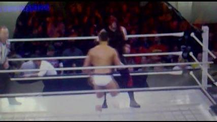 Kane vs cody rhodes