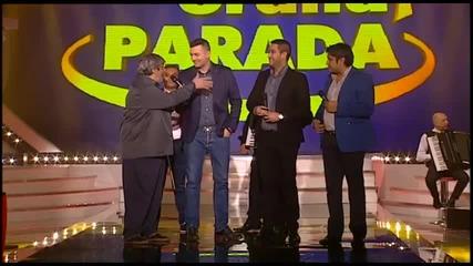 Grand Parada - Cela Emisija - Tepic, Biljana, Panter, Milan, Indy i Bursac - (TV Grand 27.01.2015.)