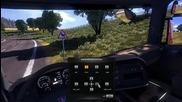 Настройка на огледалата в Euro Truck Simulator 2: