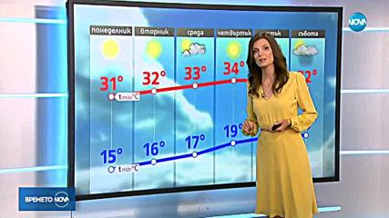 Прогноза за времето (18.08.2019 - централна емисия)